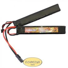 BIG POWER LIPO 1100mAh 7.4V サドルパック