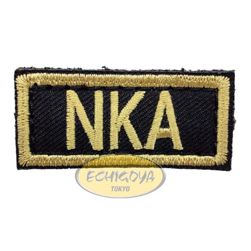 VOLK NKA PATCH / BLACK×GOLD