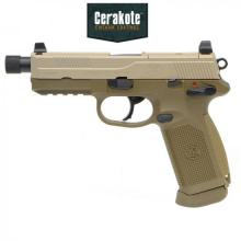 FNX-45 Tactical ガスブローバックピストル (DE)  Cerakote Limited