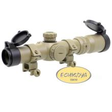 AIM 1-4X24SE Tactical Scope (Red / Green Reticle) - DE