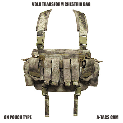 VOLK TF CHESTRIG BAG / A-TACS AU