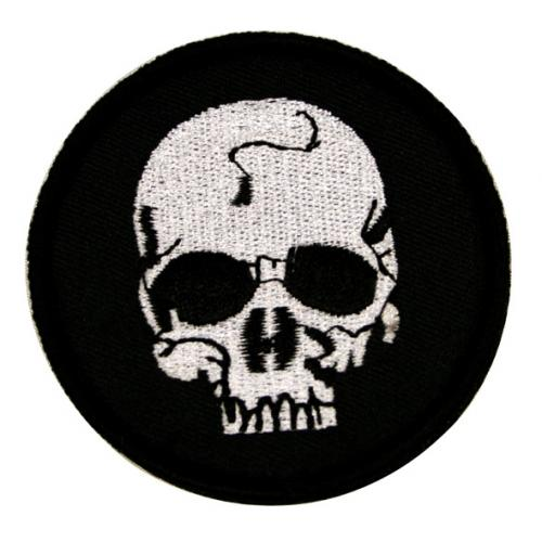 パッチ SKULL PATCH BK
