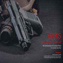 Umarex HK45 Compact Tactical ガスブローバックピストル STD/JPversion (BK)