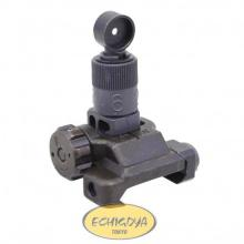 Folding Micro Rear Sight, 200-600 Meter Adjustable