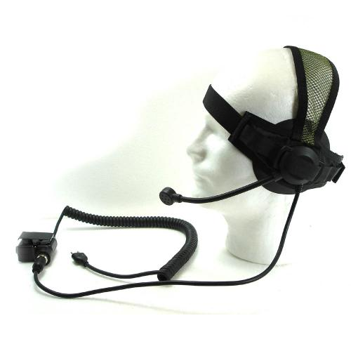 T.A.S.C TACTICAL HEADSET / OD (I-COM)