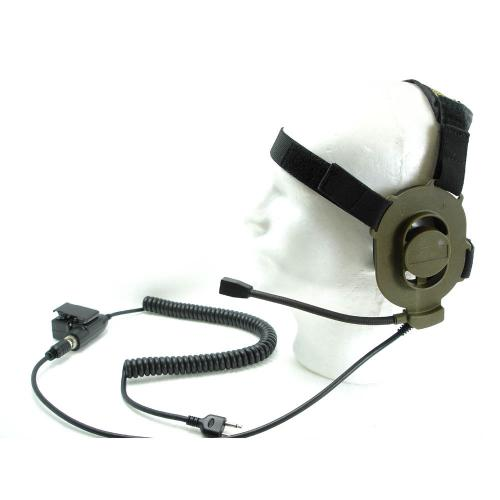 ELITE  TACTICAL HEADSET / TAN (I-COM)