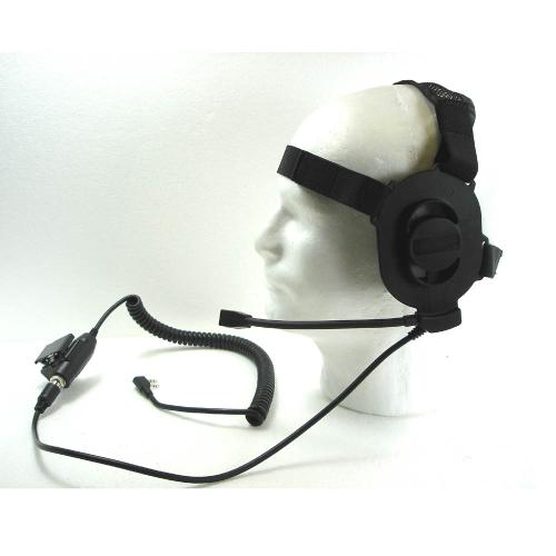ELITE  TACTICAL HEADSET / BLACK (KENWOOD)