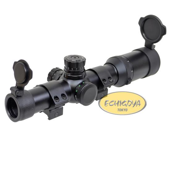 Electric Rifle Scope 1-5×24