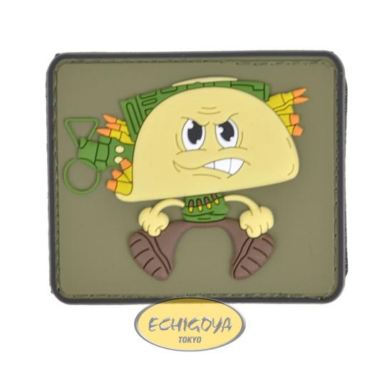 TACO Man PVC Patch