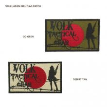 VOLK JAPAN GIRL FLAG PATCH