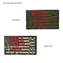 VOLK USA GIRL FLAG PATCH