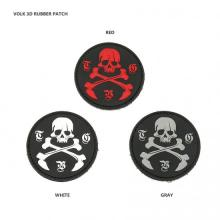 VOLK 3D RUBBER PATCH